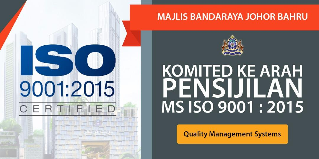 MS ISO 9001 : 2015