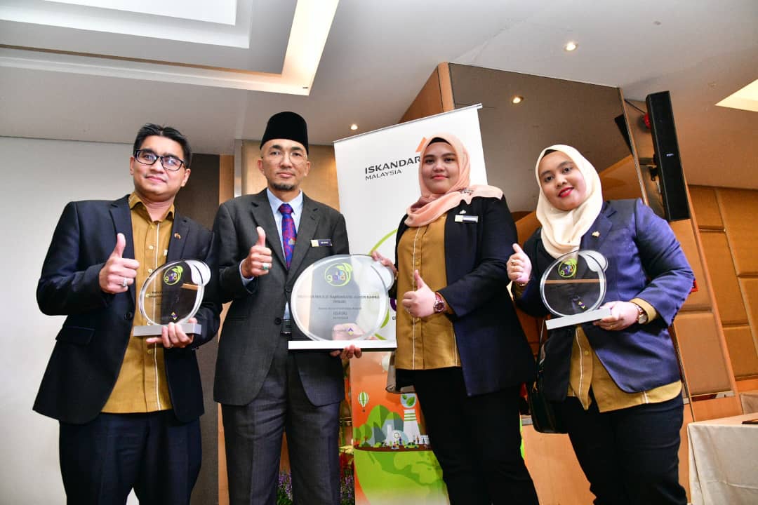 MBJB TERIMA ANUGERAH GREEN ACCORD INITIATIVE AWARDS (GAIA)