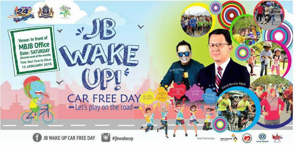 JB WAKE UP CAR FREE DAY