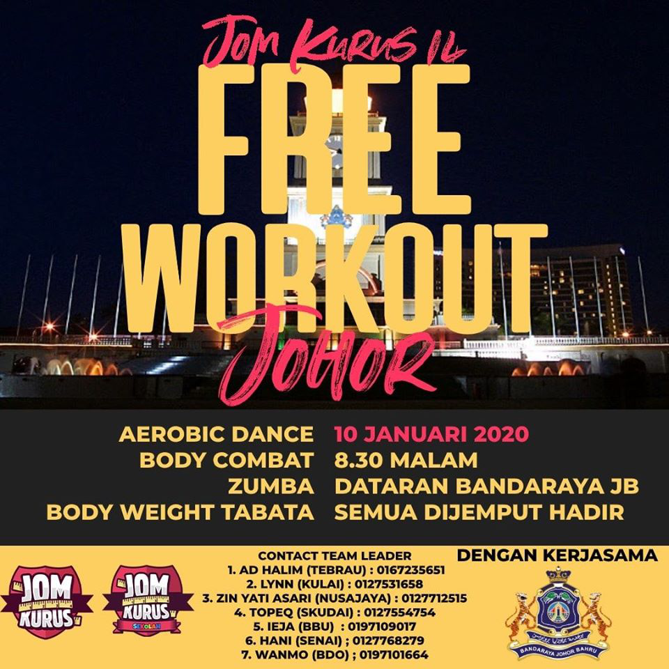 Free Workout Joho