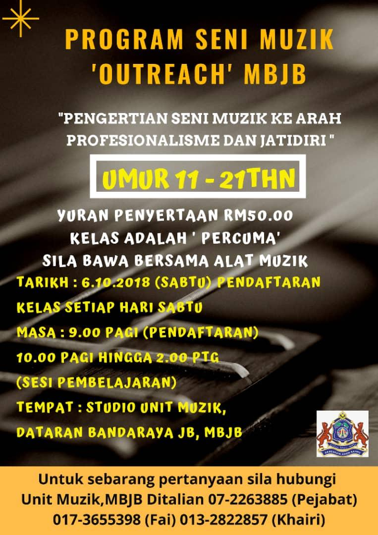 Program Seni Muzik Outreach