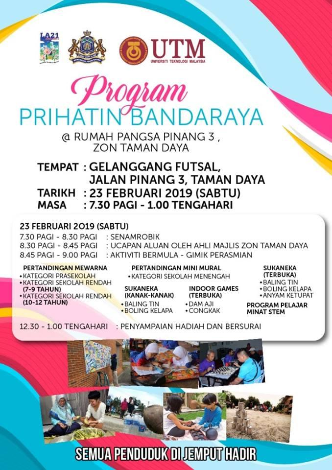 PROGRAM PRIHATIN BANDARAYA 23 FEB 2019