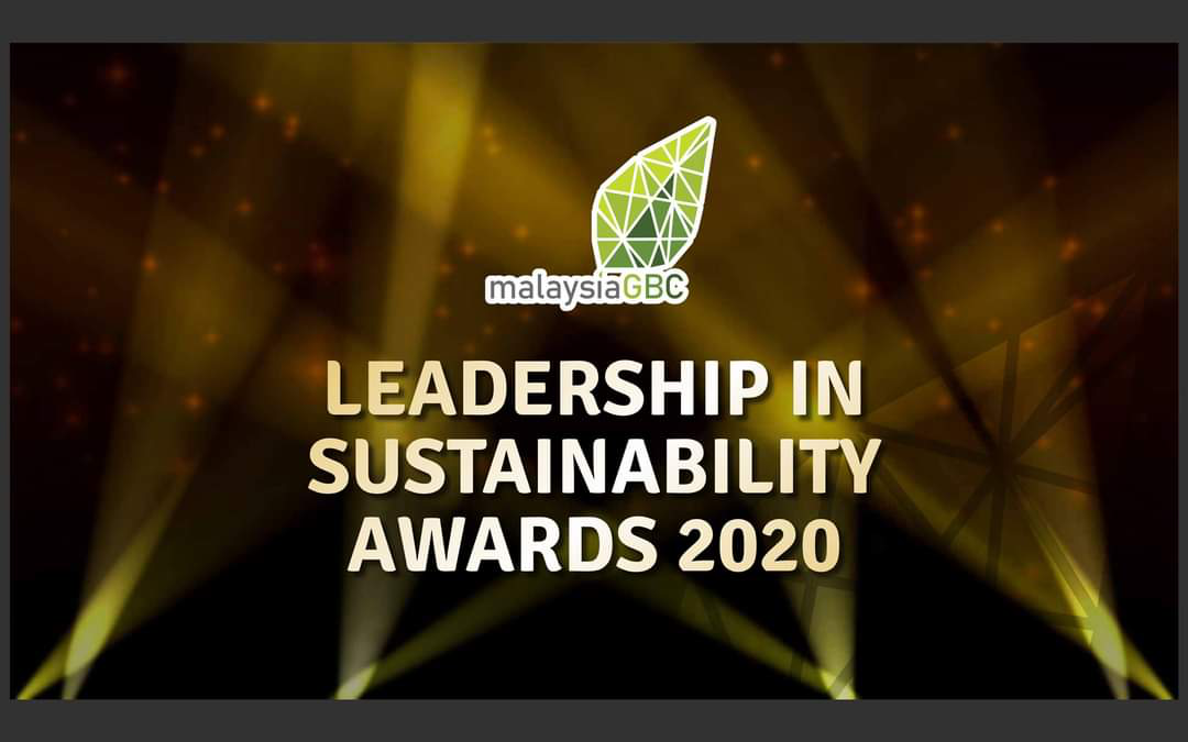 MBJB ANUGERAH DI LEADERSHIP IN SUSTAINABILITY AWARDS 2020